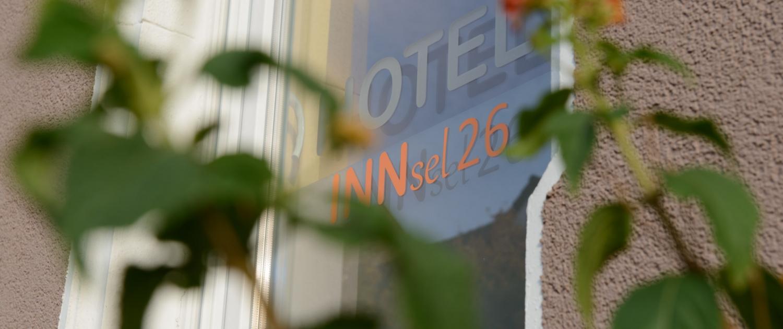 Aussenansicht Hotel INNsel26